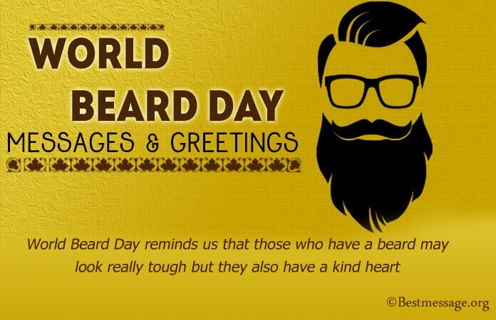 World Beard Day Wishes Messages Images