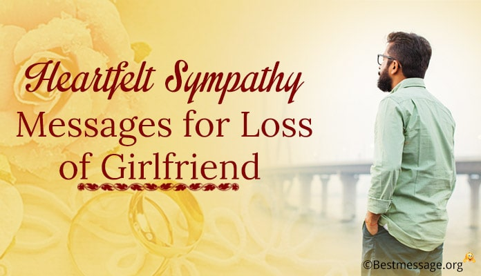 Sympathy Messages for Loss of Girlfriend