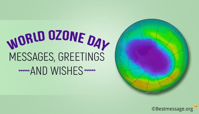 World Ozone Day Messages, Greetings Wishes Image