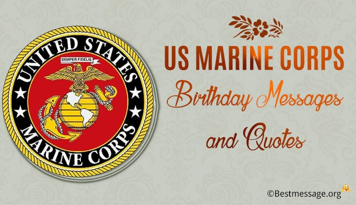 US Marine Corps Birthday Messages, Marine Corps Quotes