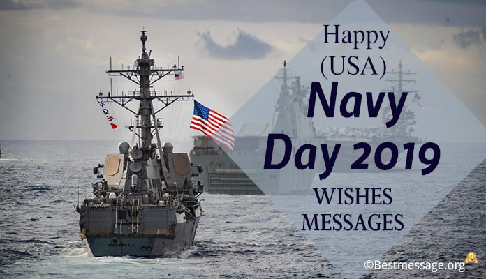 Happy (USA) Navy Day Wishes, Messages Image