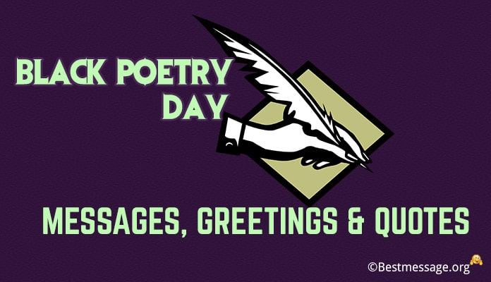 Black Poetry Day Messages, Greetings, Quotes
