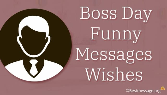 Boss Day Funny Messages - Funny Boss Day Greetings Image