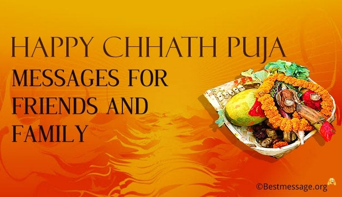 Happy Chhath Puja Messages for Friends and Family