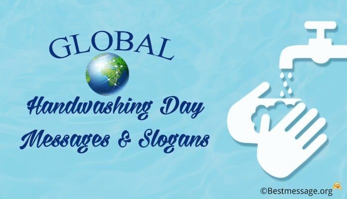 Global Handwashing Day Messages, Slogans
