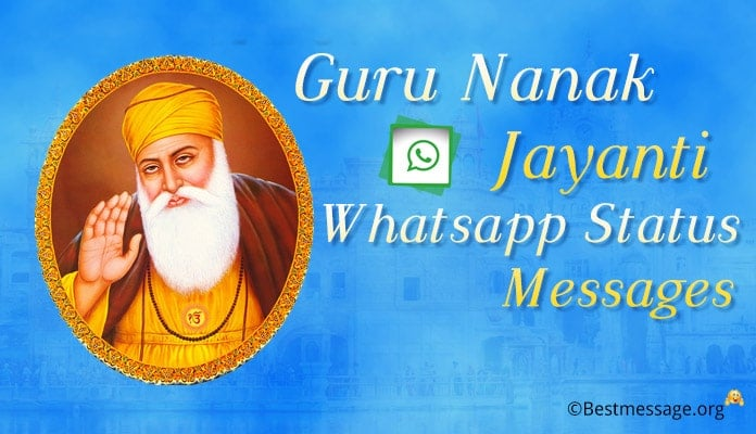 Guru Nanak Jayanti Whatsapp Status Messages