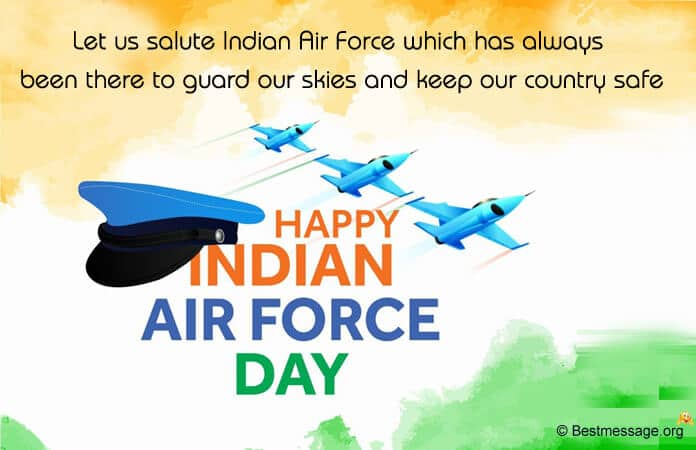 Indian Air Force Quotes, Wishes Images