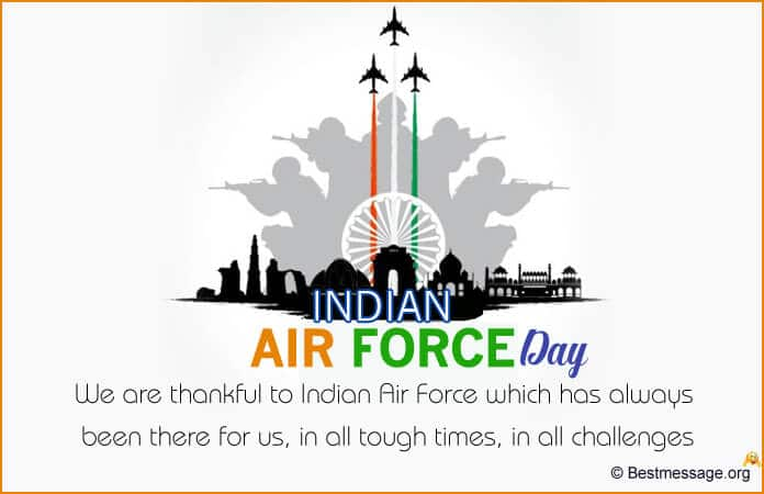 Indian Air Force Messages, Quotes in English