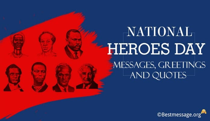 National Heroes Day Messages, Heroes Quotes Image