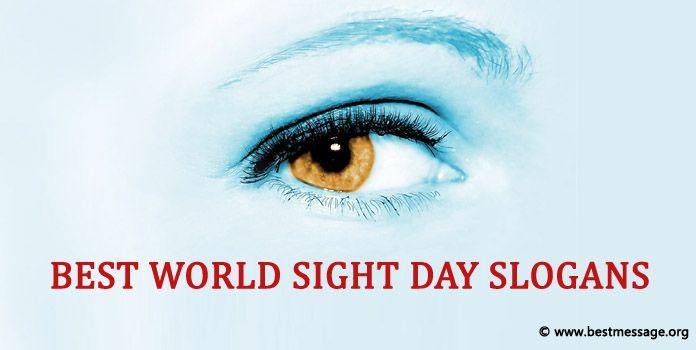 World Sight Day Slogans - Eye Donate Slogans
