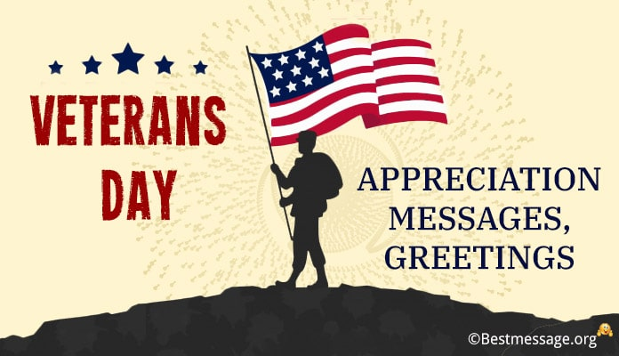 Veterans Day Appreciation Messages, Wishes