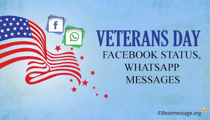 Veterans Day Facebook Status – Whatsapp Messages Image