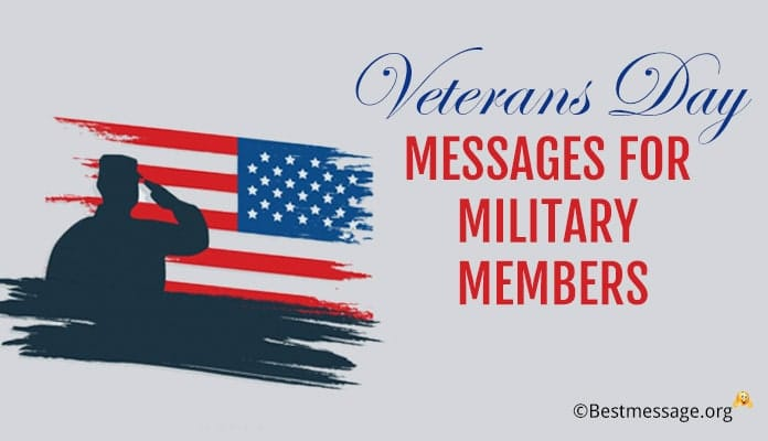 Happy Veterans Day Messages for Military, Army Members