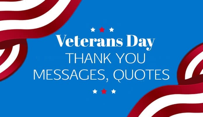 Veterans Day Thank You Messages, Thank You Quotes