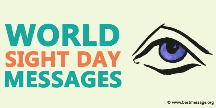 World Sight Day Messages, Quotes, Greetings