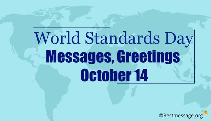 World Standards Day Messages, Greetings Quotes