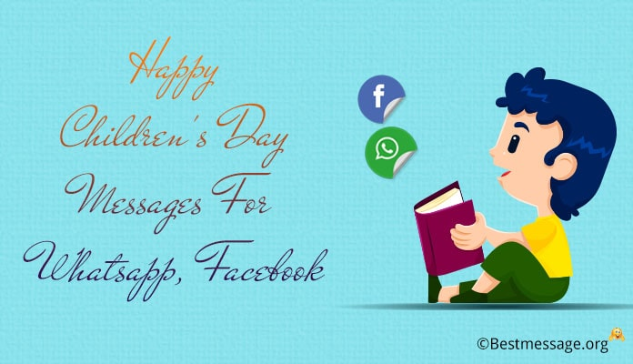 Children's Day Status Messages, Whatsapp, FB Status