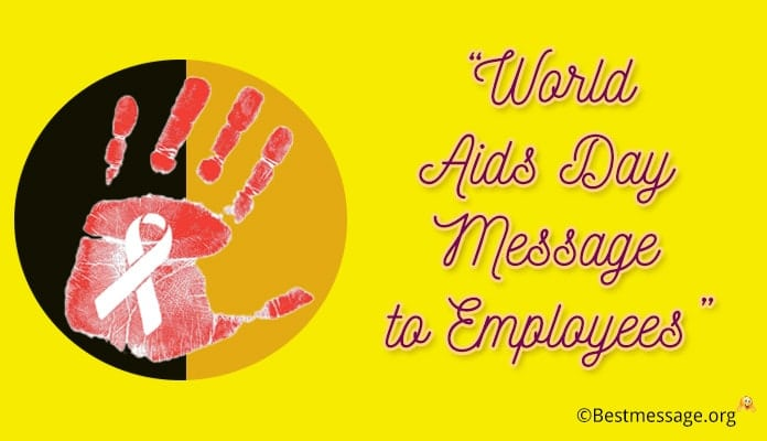 World Aids Day Message to Employees