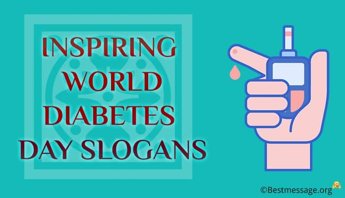 World Diabetes Day Slogans, Sugar Slogans