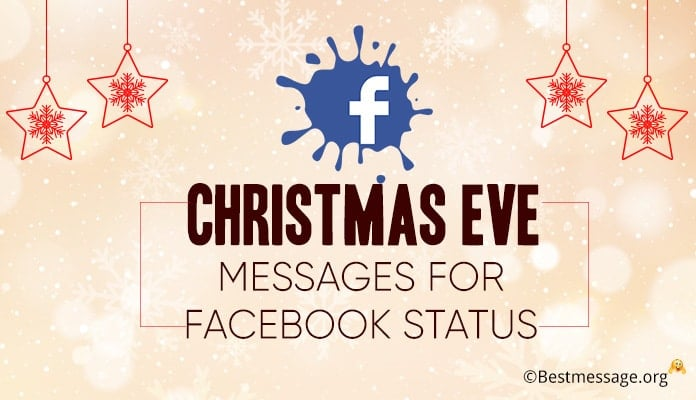 Christmas Eve Messages for Facebook – Status Messages Image