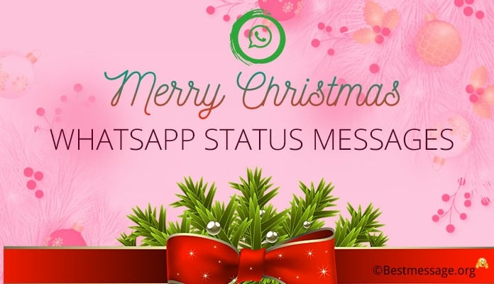 Merry Christmas Whatsapp Status, Christmas Whatsapp Messages