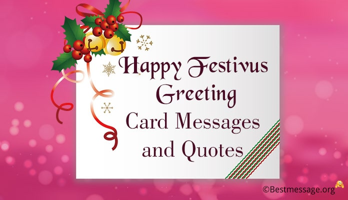 Happy Festivus Greeting Card Messages Image