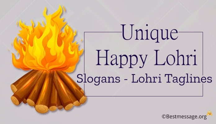 Happy Lohri Slogans, Lohri Taglines, Quotes