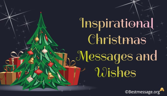 Inspirational Christmas Messages, Wishes