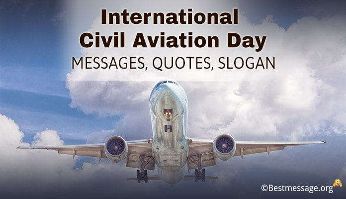 Civil Aviation Day Messages, Quotes, Slogan