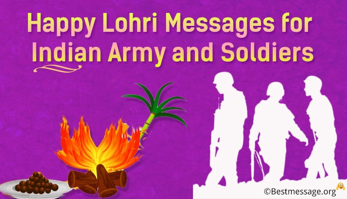 Happy Lohri Messages for Indian Army and Soldiers