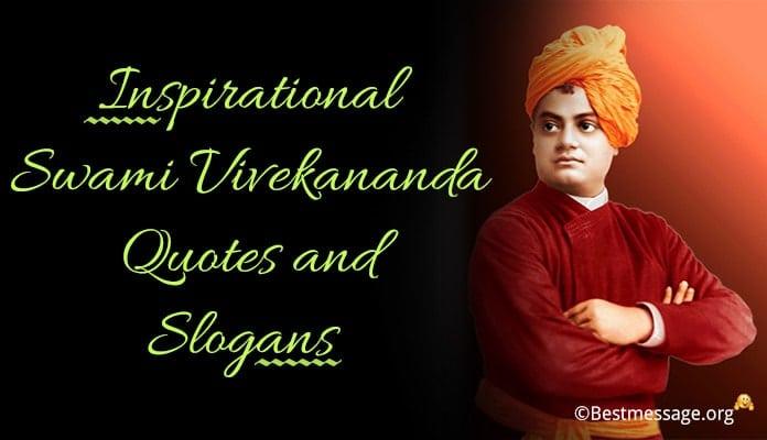 Inspirational Swami Vivekananda Quotes, Slogans