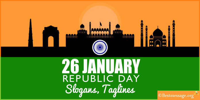 26 January Republic Day Slogans - Slogans on Republic Day