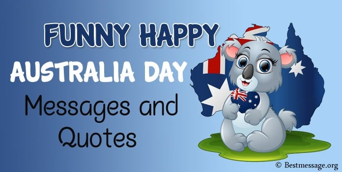 Funny Happy Australia Day Messages, Wishes Quotes