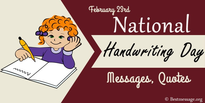 Handwriting Day Messages, Handwriting Quotes Greetings