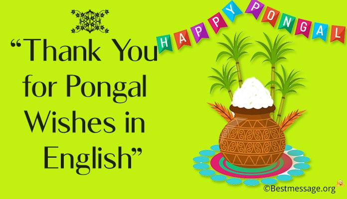 Thank You Pongal Messages - Pongal Thank You Wishes