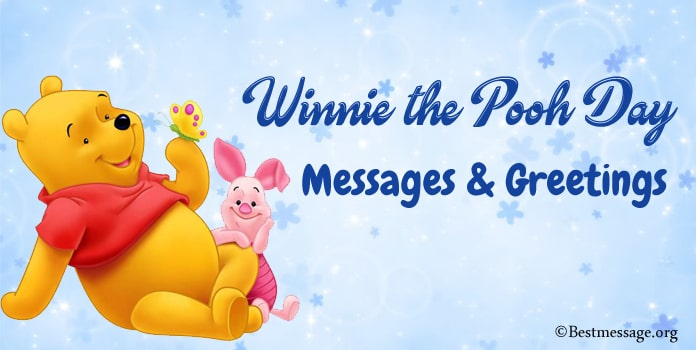 Happy Winnie the Pooh Day Messages and Quotes