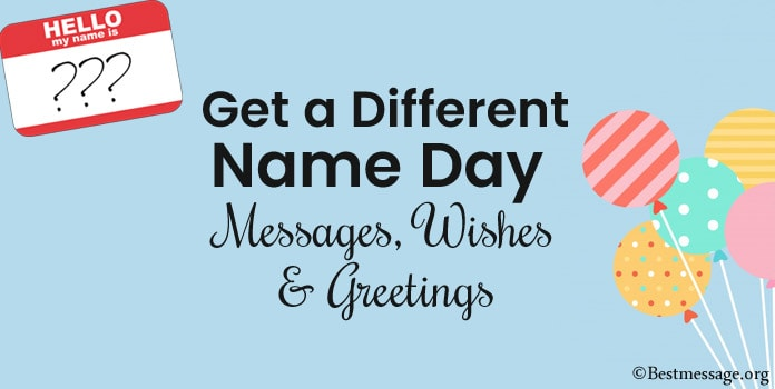 Name Day Messages, Name Day Wishes Greetings