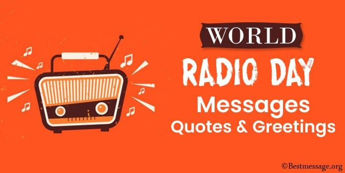 Radio Day Messages, Radio Quotes, Greetings