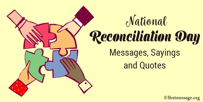 Happy Reconciliation Day Messages, Reconciliation Quotes Sayings
