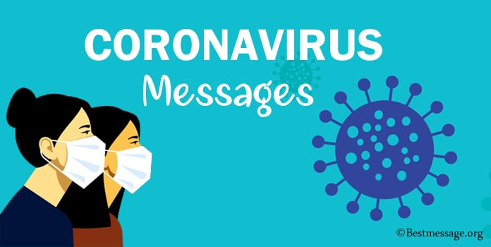 Coronavirus Messages, COVID-19 Messages WhatsApp Status