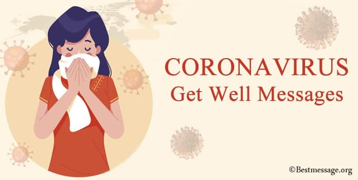 Coronavirus Get Well Messages, COVID-19 Greetings Wishes