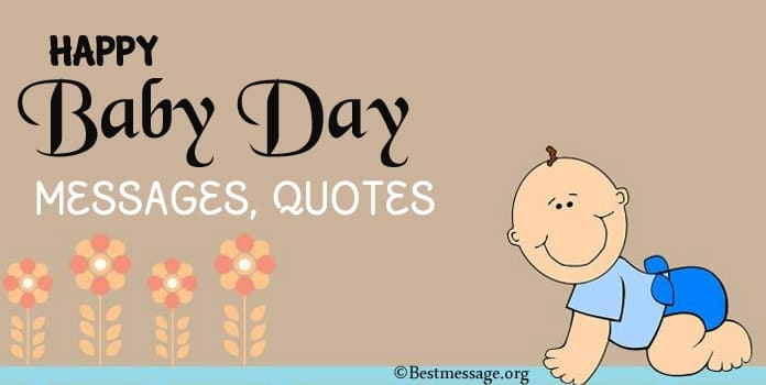 Happy Baby Day Messages, Baby Quotes, New baby Greetings