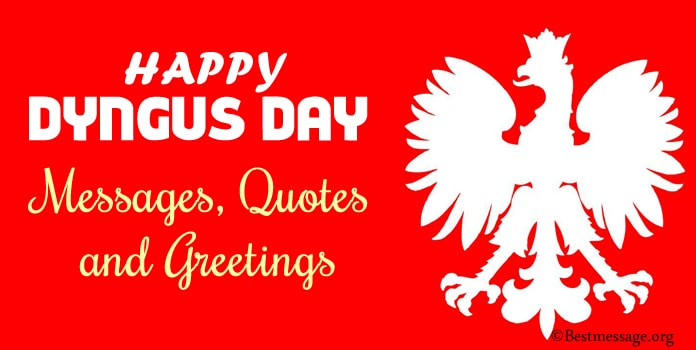 Happy Dyngus Day Messages, Quotes Sayings 2020