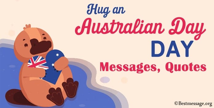 Hug an Australian Day Messages, Hug Greetings quotes