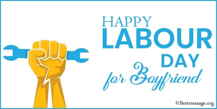 Labour Day Messages for husband