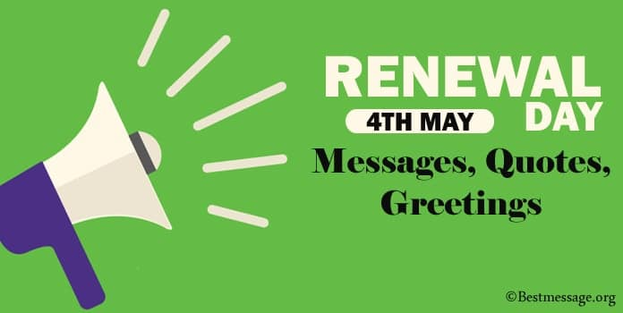 Renewal Day Messages, Renewal Quotes