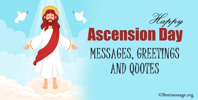 Happy Ascension Day Messages, Ascension Day Greetings, Quotes Sayings