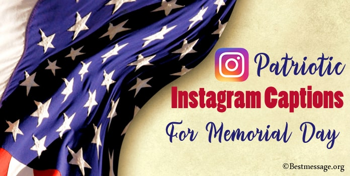 Memorial Day Instagram captions