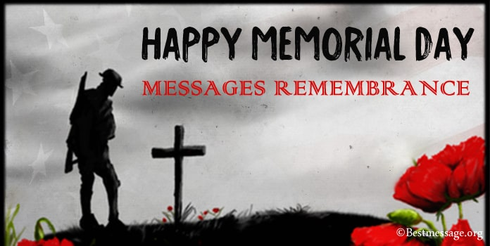 Memorial Day Messages Remembrance, Thank You Wishes