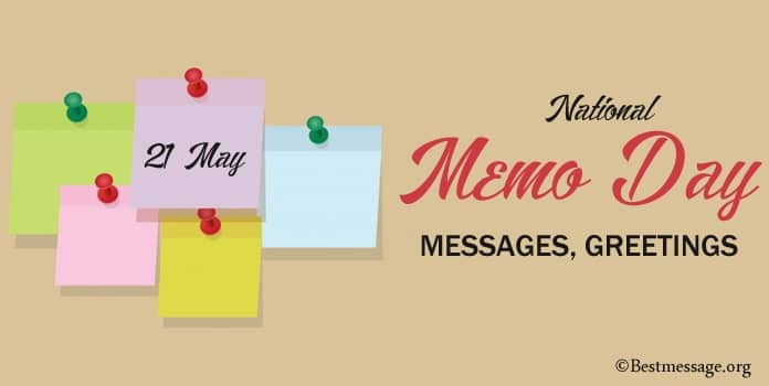 Happy National Memo Day Messages, Greetings